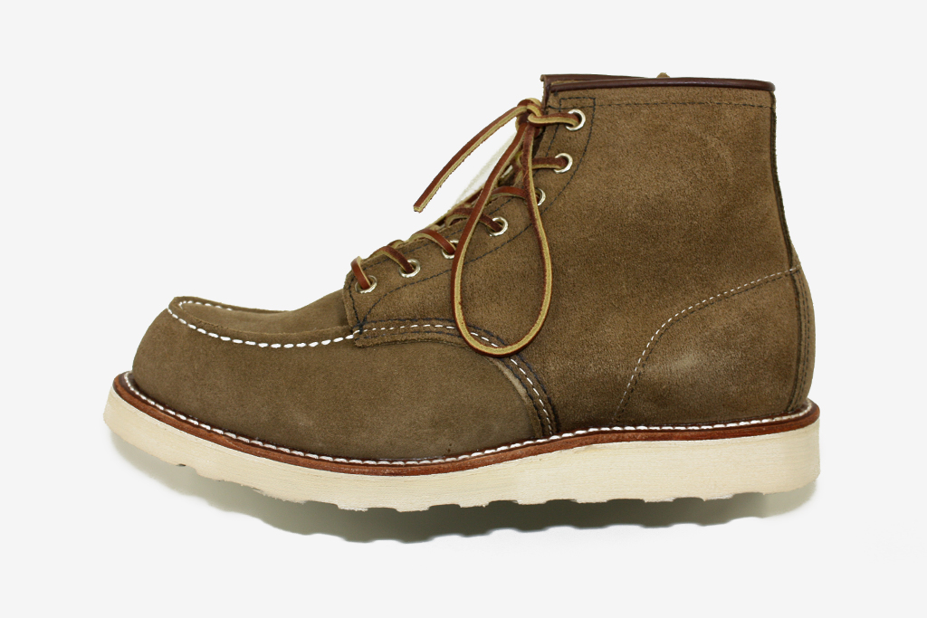 """Red Wing Shoes 8881 6"""" Moc Olive Mohave"""