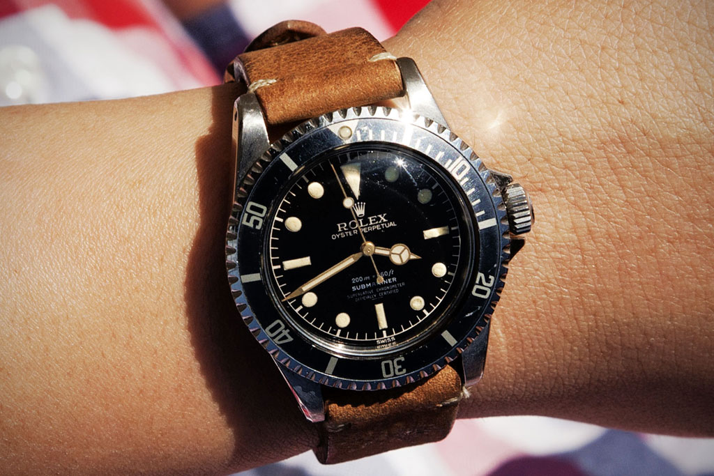 retrospect 1961 rolex crown guard submariner 5512 chronometer version
