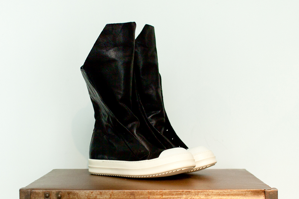rick owens 2012 spring summer leather hiking boot