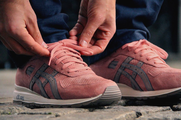 ronnie fieg x asics gt ii rose gold preview