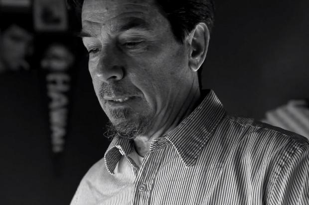 Shawn Stussy in his Studio by Seth Epstein