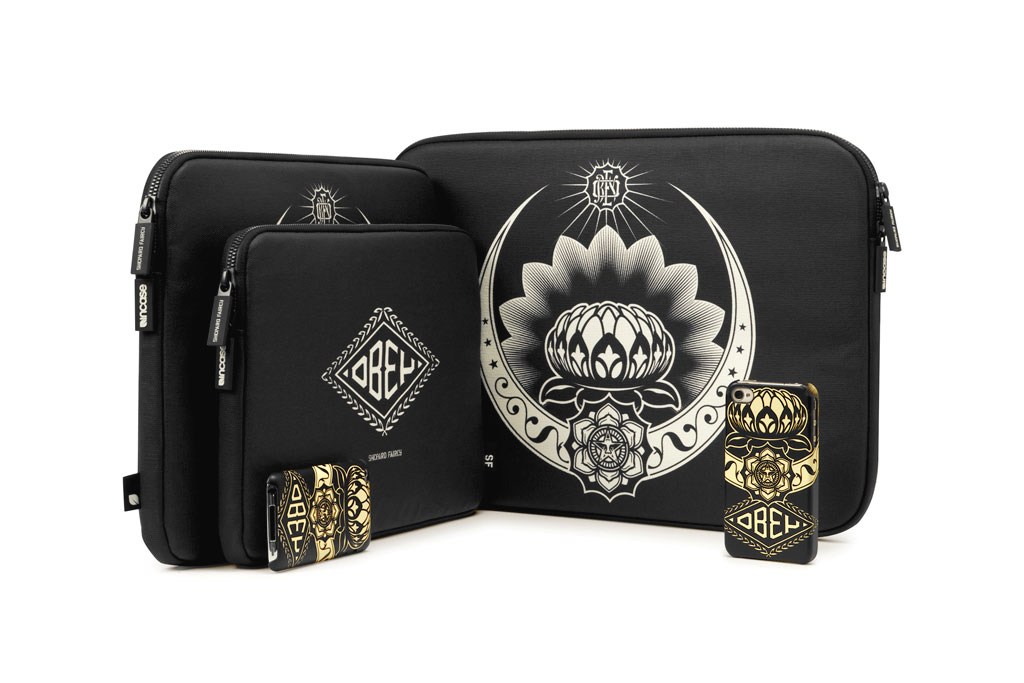 shepard fairey for incase limited edition capsule collection
