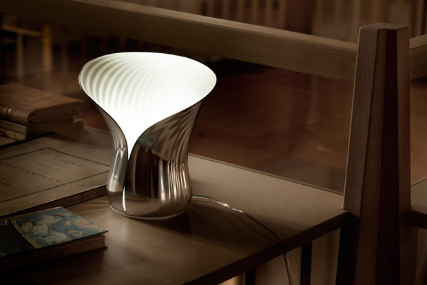 shiro studio x alessi phylum table lamp