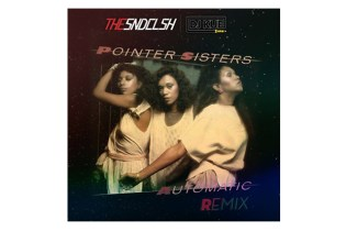"SNDCLSH (DJ Lupe Fiasco + DJ Sky Gellatly) x DJ Kue - The Pointer Sisters ""Automatic"" REMIX"