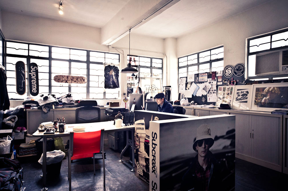 HYPEBEAST Spaces: Subcrew Offices
