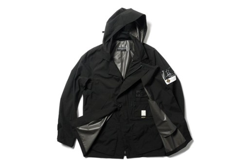 Stone Island Shadow Project GORE-TEX PACLITE Stealth Trench Coat
