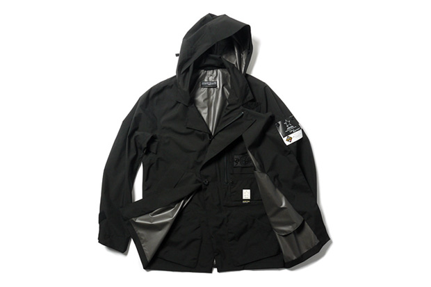 stone island shadow project gore tex paclite stealth trench coat
