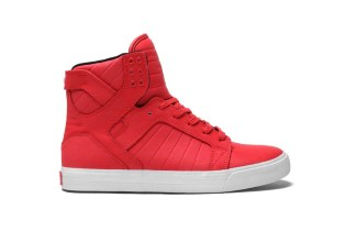 SUPRA Skytop Chili Red/White