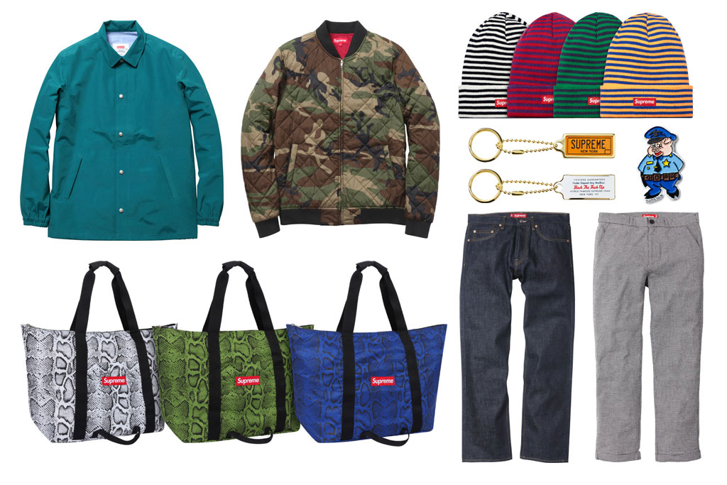Supreme 2012 Spring/Summer Collection