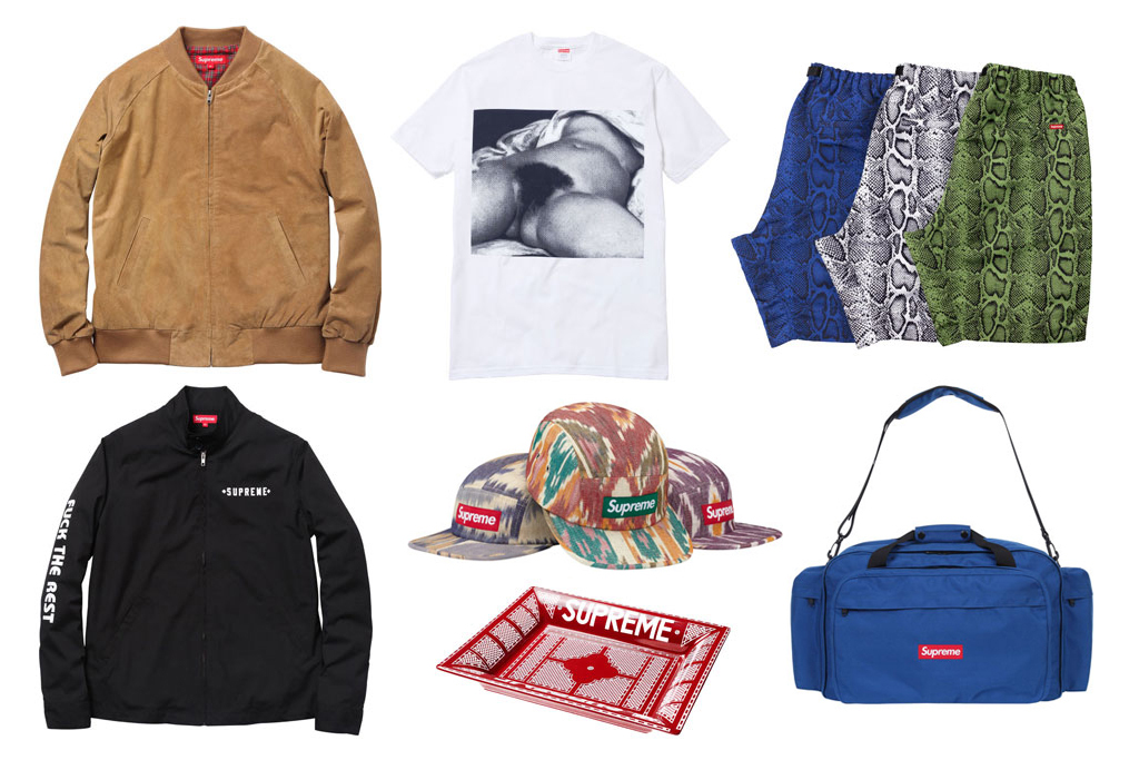 supreme 2012 spring summer collection
