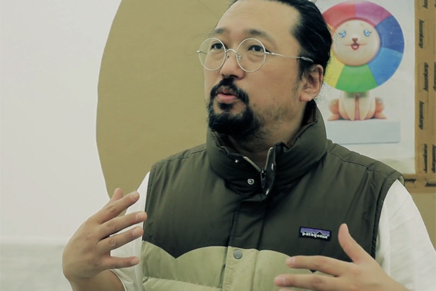 "Takashi Murakami ""Ego"" Exhibition @ Qatar Museum Behind-the-Scenes Interview"
