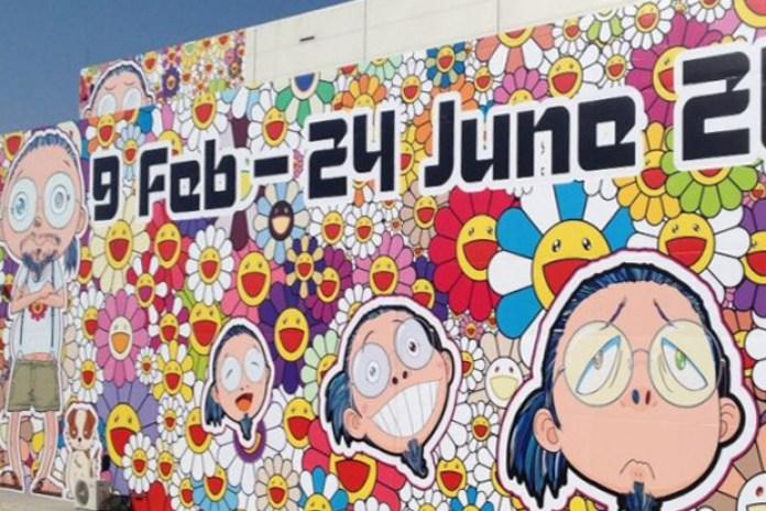 "Takashi Murakami ""Ego"" Exhibition @ Qatar Museum Preview"