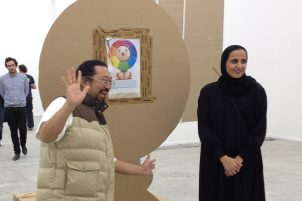 "Takashi Murakami ""Ego"" Exhibition @ Qatar Museum Preview"