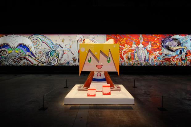 takashi murakami ego exhibition al riwaq exhibition hall