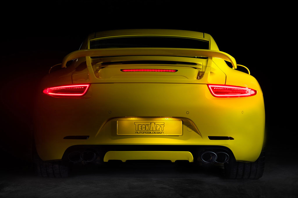 TECHART's New Porsche 911 Preview