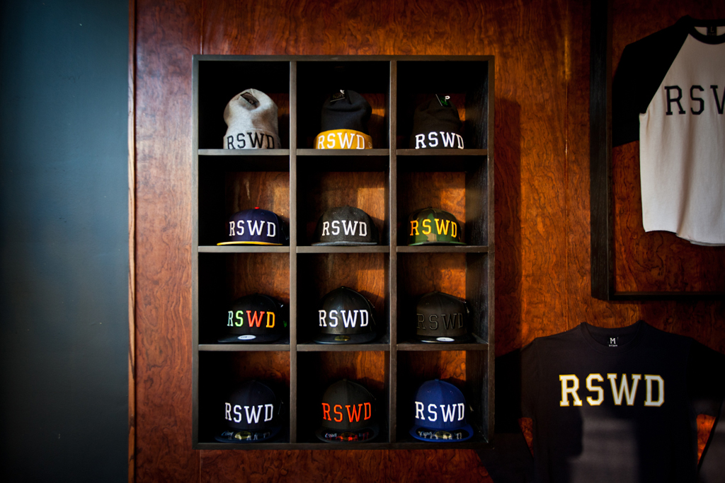 the hundreds x new era rswd pop up shop opening