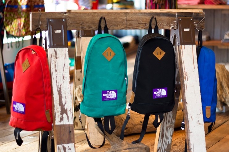 THE NORTH FACE PURPLE LABEL 2012 Spring/Summer Bag Collection