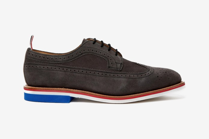 Thom Browne 2012 Spring/Summer Grey Wingtip Brogue with Micro Sole