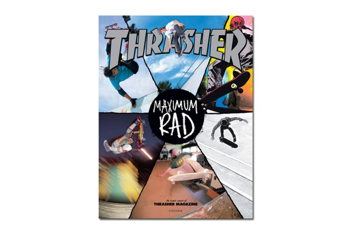 Thrasher 'Maximum Rad' Book