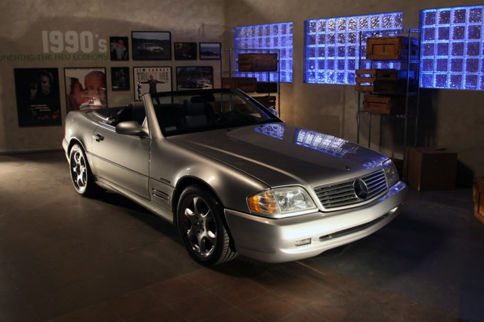 Timeless: 60 Years of the Mercedes-Benz SL Exhibition