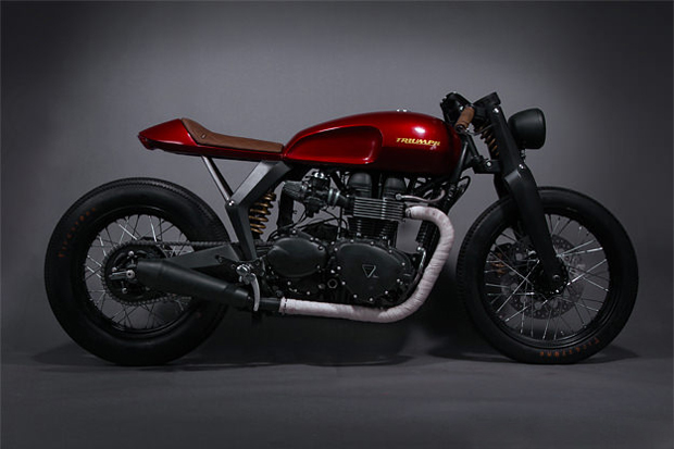 Triumph x Barbour Speed Twin Concept