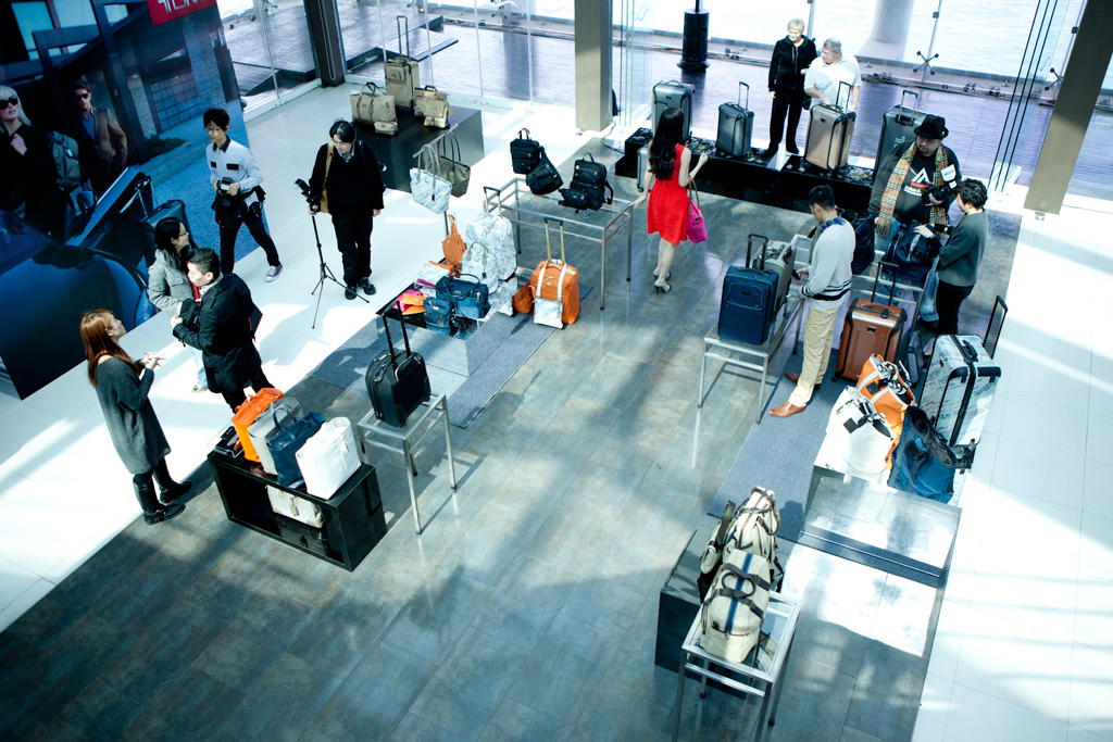 Tumi 2012 Spring/Summer Collection Preview @ Watermark Hong Kong