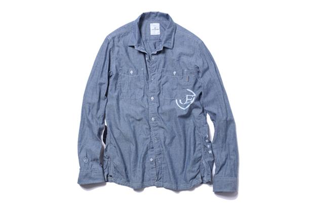 uniform experiment x carhartt wip 2012 spring summer work shirt