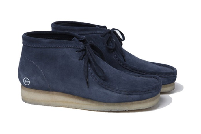 uniform experiment x fragment design x Clarks Originals 2012 Spring/Summer Wallabee