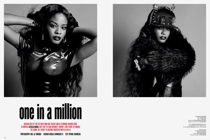 V Magazine: Azealia Banks - one in a million