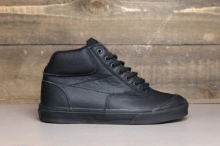 Vans Black Matte Leather Switchback
