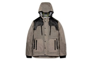 White Mountaineering Dyed Check Parka