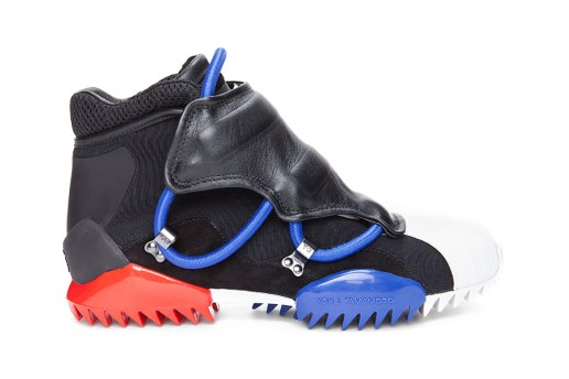 Y-3 2012 Spring/Summer Black Savage Sneakers
