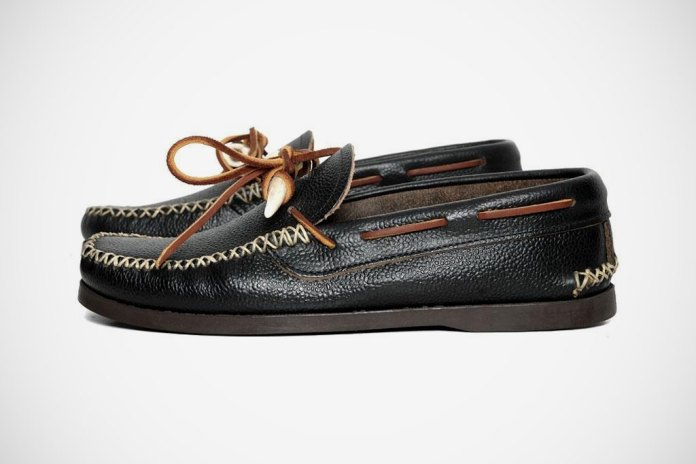 Yuketen 2012 Spring/Summer Antler Canoe Moc