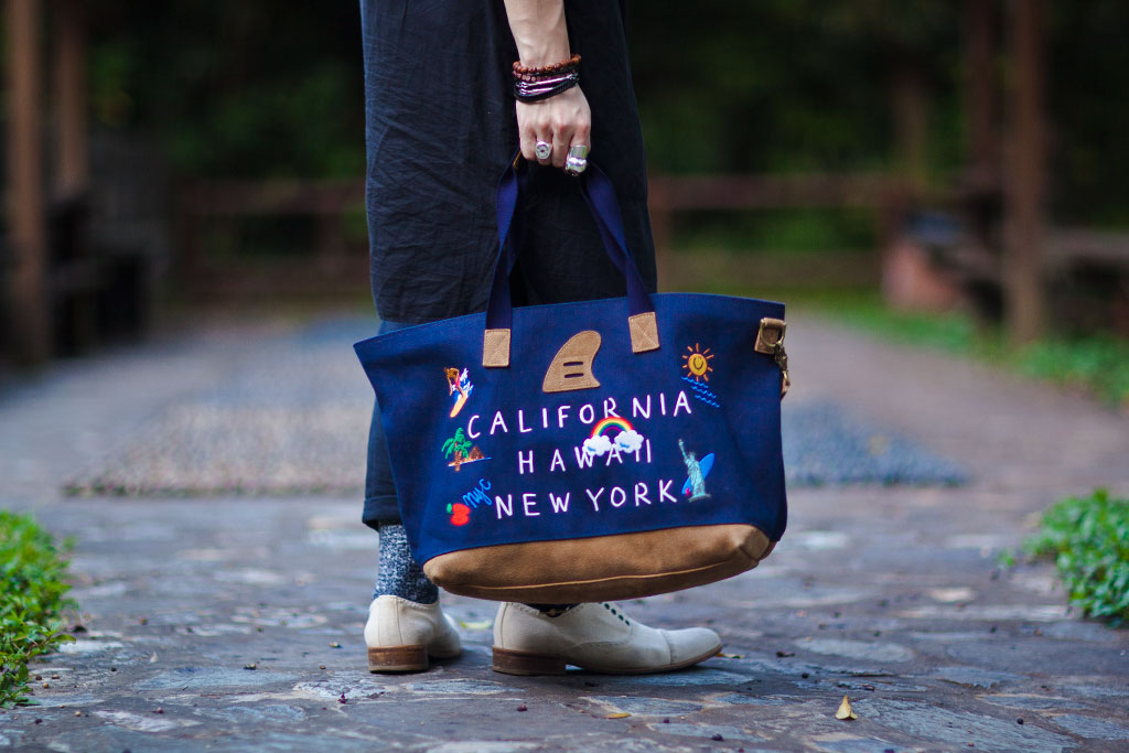 Palm Graphics x master-piece 2012 Spring/Summer Tote Bag