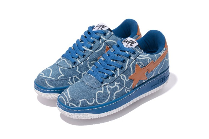 A Bathing Ape DENIM BAPE STA