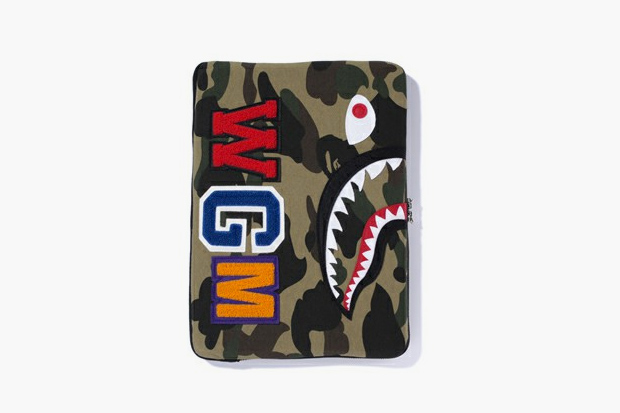 a bathing ape shark laptop sleeve