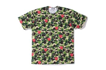A Bathing Ape x PLAY COMME des GARCONS 2012 Capsule Collection