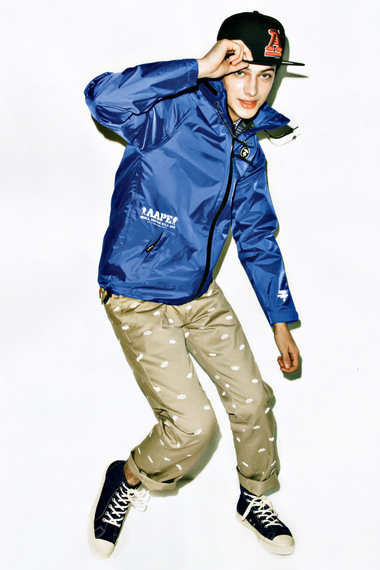Aape BY A BATHING APE 2012 Spring/Summer Debut Collection