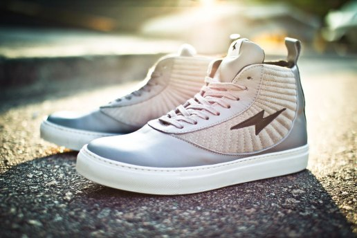 Adam Kimmel 2012 Spring/Summer Suede High Top Sneakers