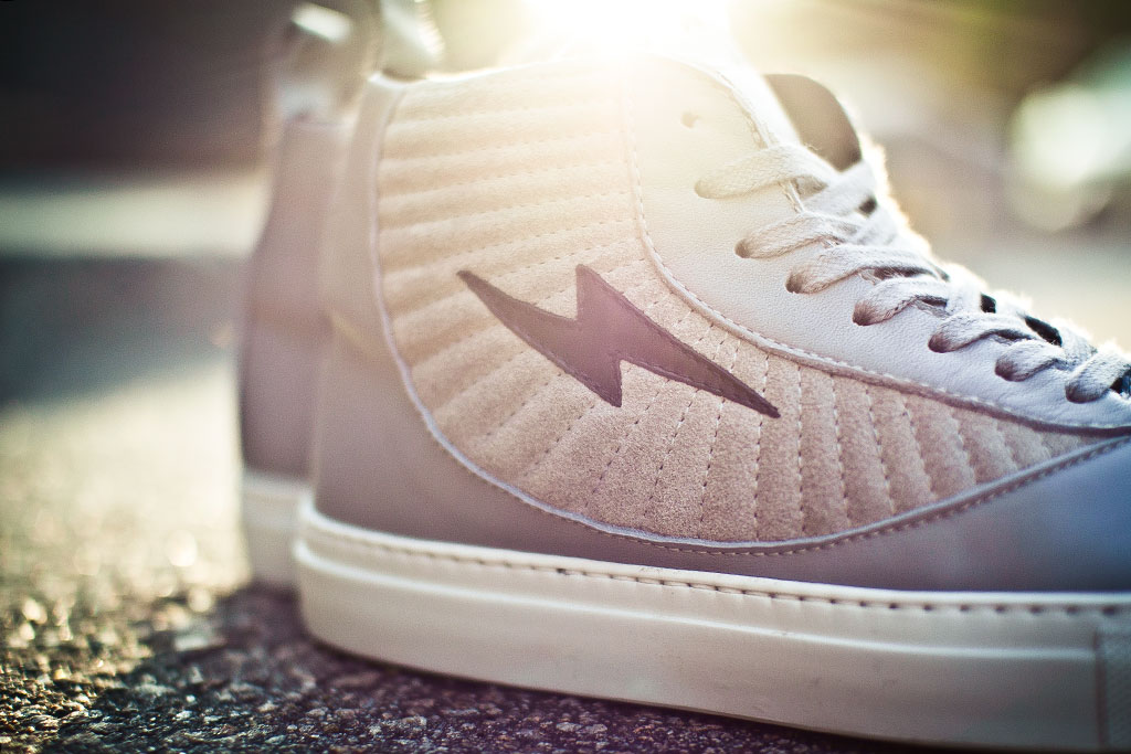 Adam Kimmel 2012 Spring/Summer Suede High Top Sneakers