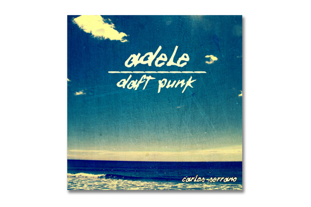 adele vs daft punk something about the fire carlos serrano mix