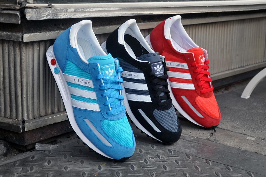 adidas Originals 2012 Spring/Summer LA Trainer Pack