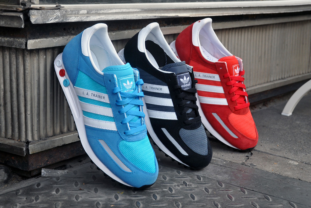 adidas Originals 2012 Spring/Summer LA Trainer Pack