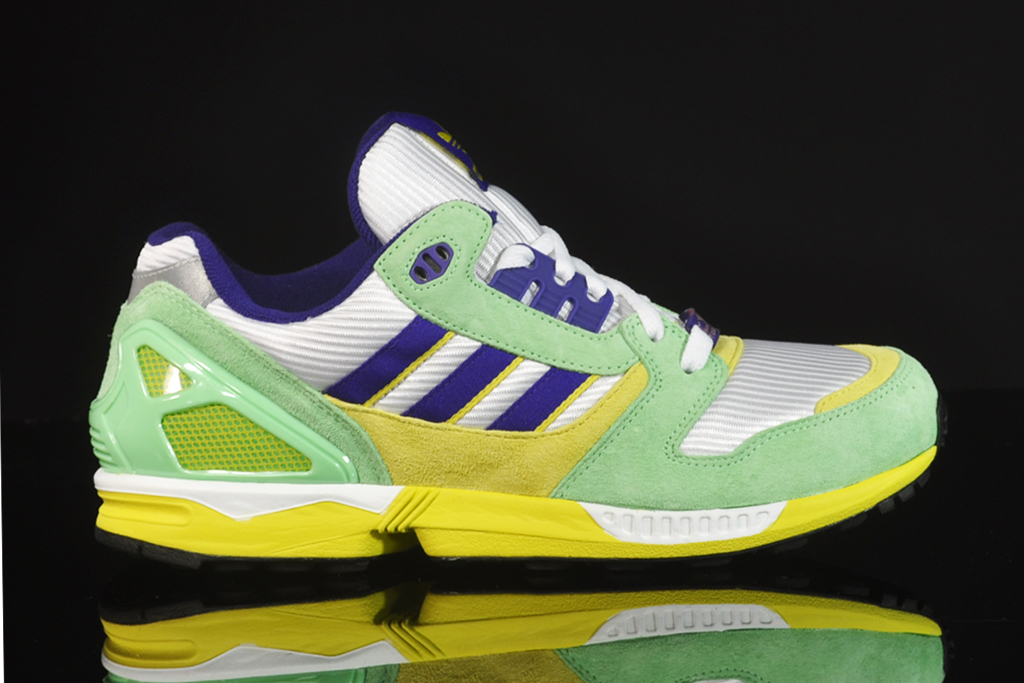 adidas ZX 8000 White/Super-Green/Collegiate Purple