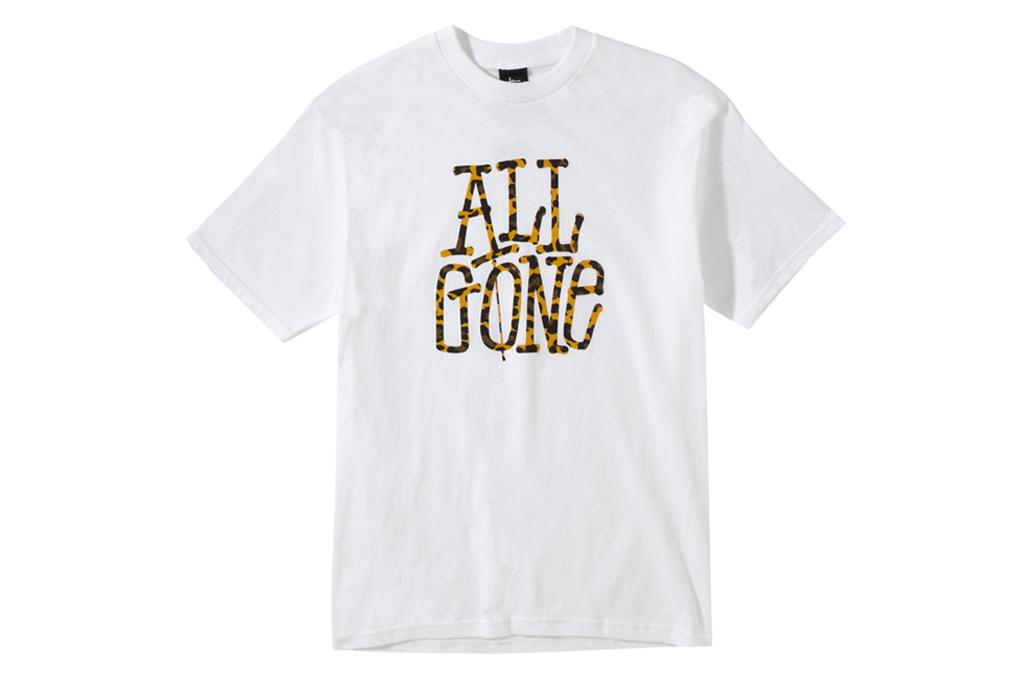 All Gone x Stussy T-Shirt