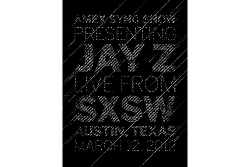 Amex Sync Show Presenting Jay-Z Live