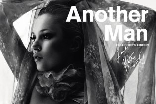 AnOther Man Issue 14 2012 Spring/Summer Collector's Edition featuring Kate Moss