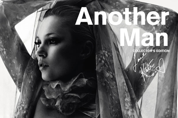 another man issue 14 2012 spring summer collectors edition featuring kate moss