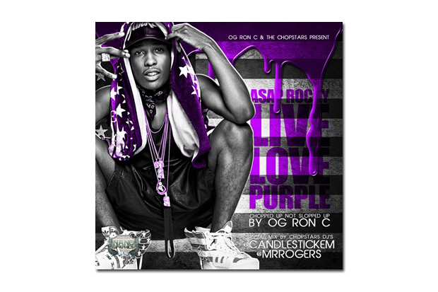 asap rocky live love purple mixtape