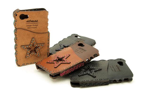atmos x Ojaga Design Leather iPhone 4S Case
